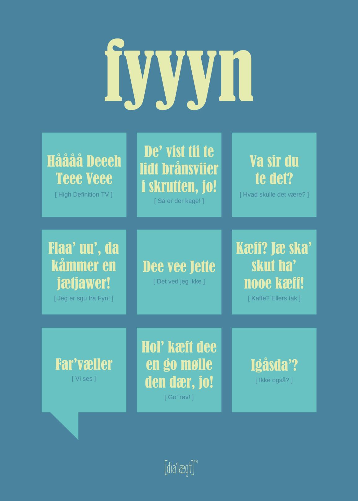 sjove udtryk på dansk