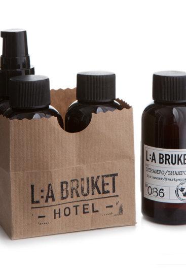 LA Bruket 103 travel kit