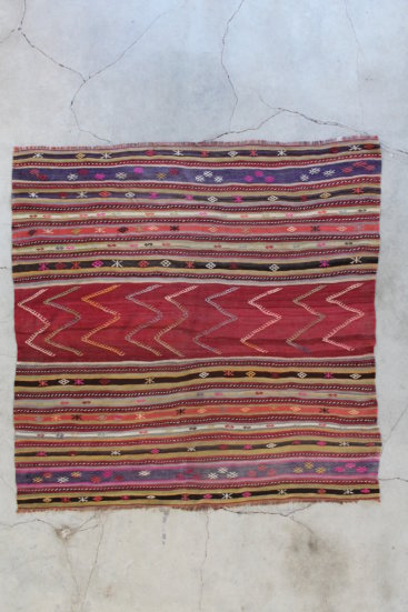 Kelimtæppe 188 x 188 - 2