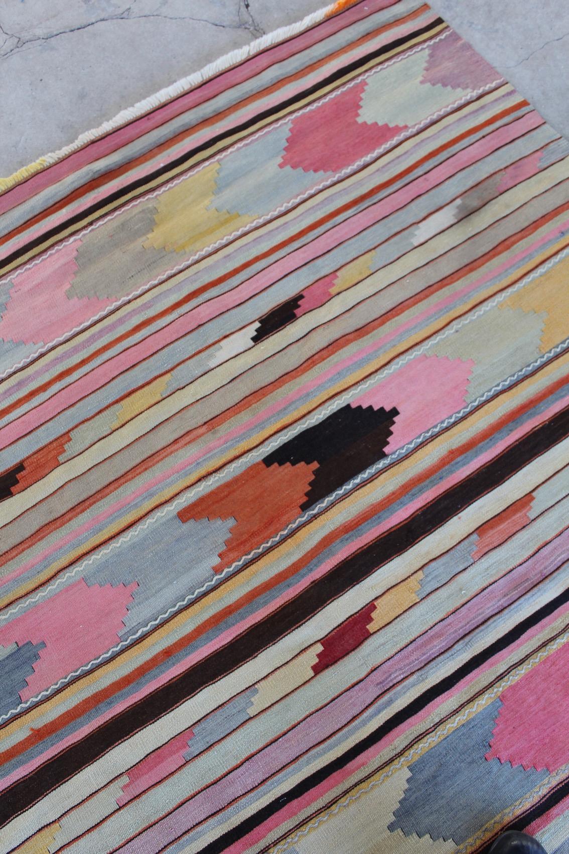 Kelimtæppe 170 x 173 cm - 1