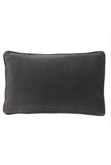 velvet 33x50 grey dark