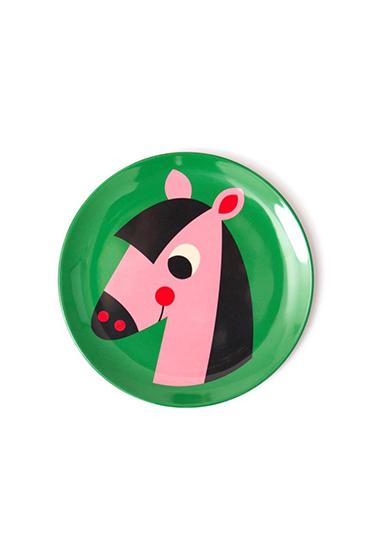 tallerken hest