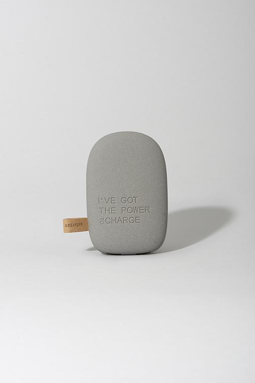 Mørk grå ToCharge powerbank