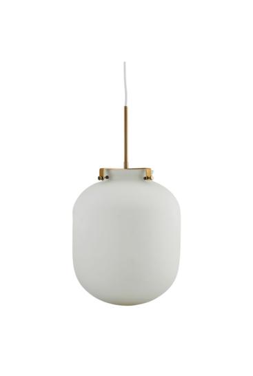 Lampe ball hvid fri
