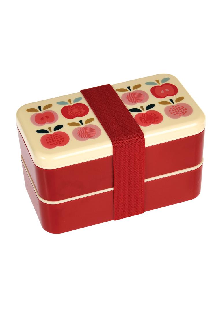 Bento madkasse med æbler