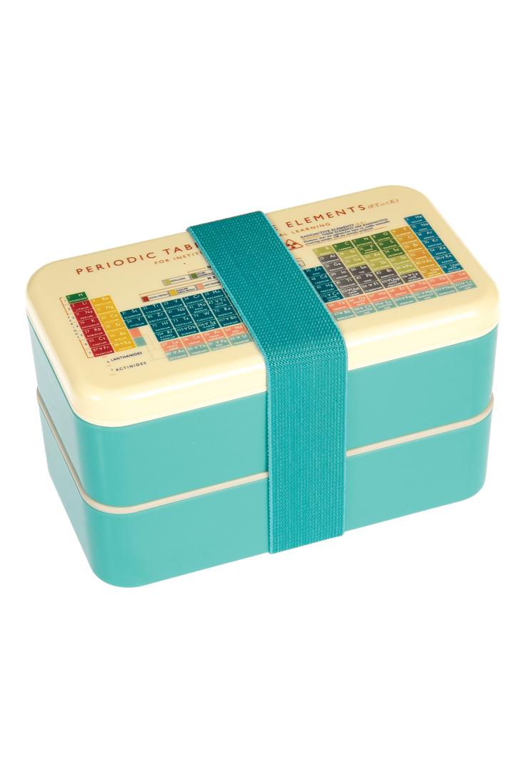 Stor bento box med periodisk system