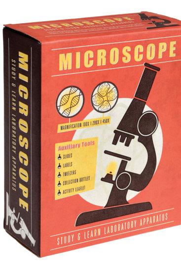 Mikroskop til børn i æske