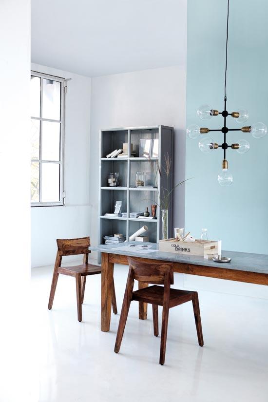 molecular lampe fra house doctor i metal se den hos mark waldorf. Black Bedroom Furniture Sets. Home Design Ideas