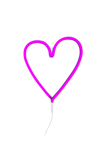 neon-lampe-pink-hjerte