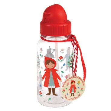 Rødhætte-vandflaske