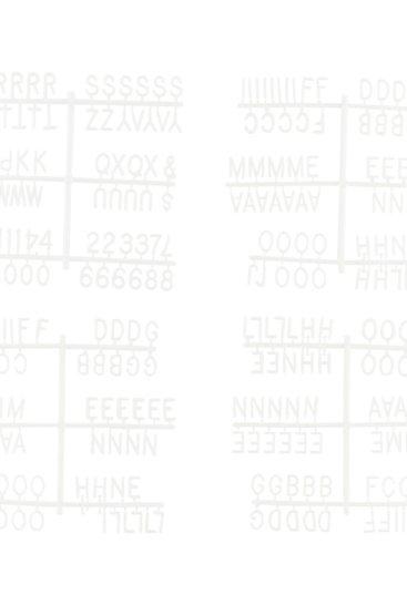 Bogstaver-symboler-tal-til-tavle