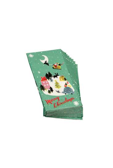 Papirlommetoerklaeder-Merry-Christmas