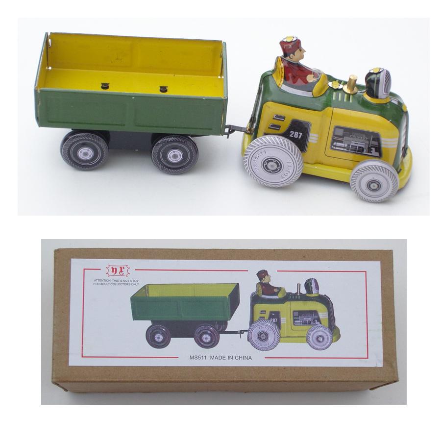 Metal-traktor-til-boern