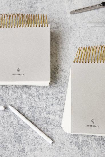 Monograph-notesblokke