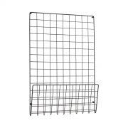 sort-metal-opslagstavle-mesh