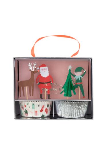 muffinforme-med-julemotiv