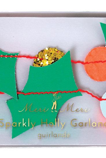 pakke-med-sparkly-holly-juleguirlande-fra-meri-meri
