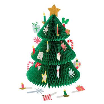 Jukalender-lavet-som-juletræ-i-papir-fra-Meri-Meri