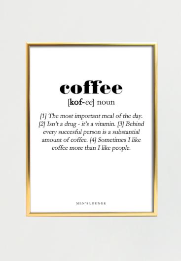 kaffe-plakat