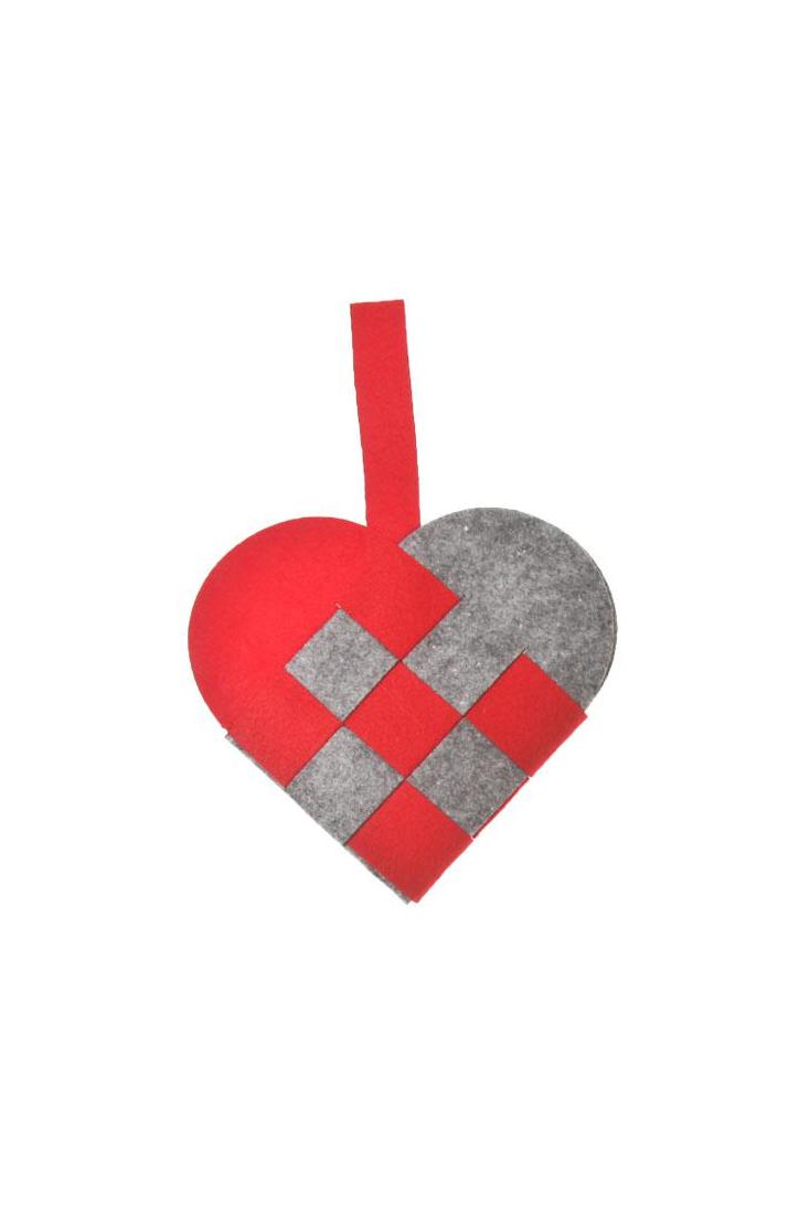 Filt-hjerte-roedt-17-cm