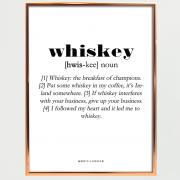 Whisky-plakat