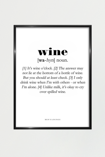 Plakat-vin