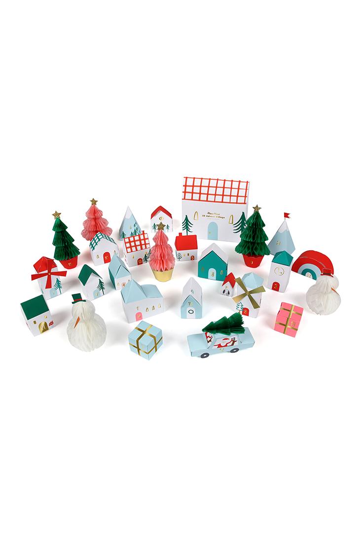 Julekalender-med-landsby-fra-meri-Meri