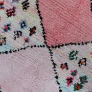 Virkelig-smukt-Rosa-og-blaat-boucherouite-tappe-str-133-x-215-cm