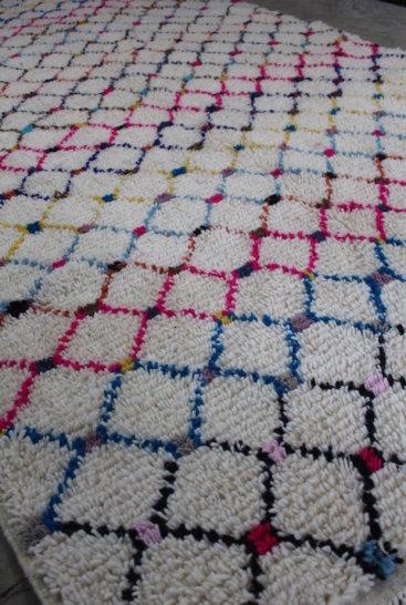 Laekkert-marokkansk tæppe-i-str-156-x-316