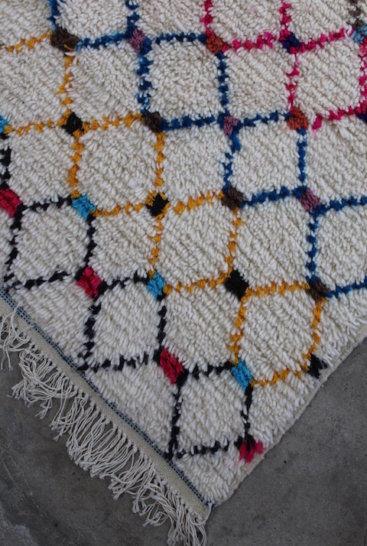 Laekkert-marokkansk tæppe-i-str-156-x-316-cm
