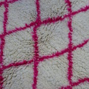 Råhvidt-og-pink-azilal-taeppe-str-110-x-145