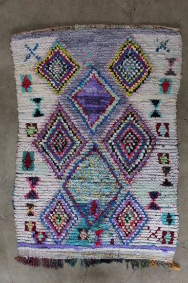 Smukt-taeppe-fra-Marokko-med-maal-148-x-209-cm