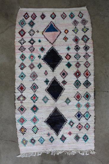 Fint-taeppe-fra-Marokko-i-maal-148-x-265-cm