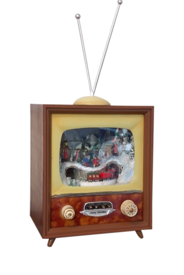 Retro-fjernsyn-spilledaase