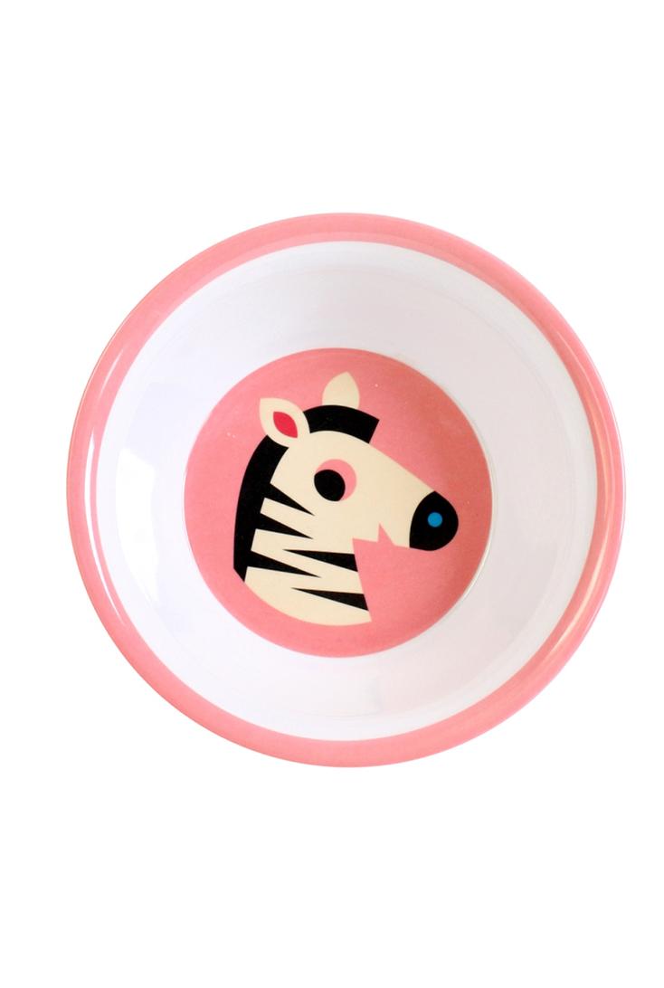 melamin-skaal-fra-Omm-design-med-print-af-zebra