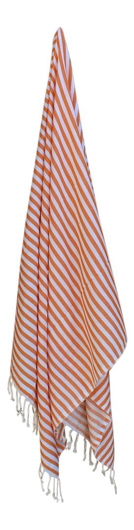 hammam-haandklaede-med-ens-striber-i-orange-og-hvid-kr-149,-
