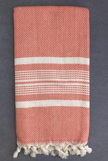mandarin-farvet-hammam-haandklaede