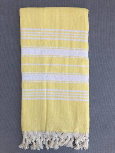 gul-stribet-hammam-haandklaede