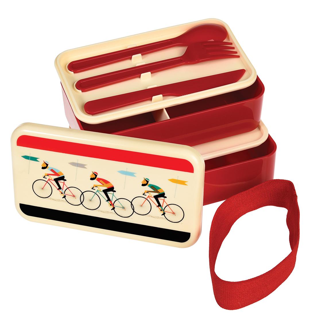 Laekker-stor-madkasse-med-retro-cykel-print