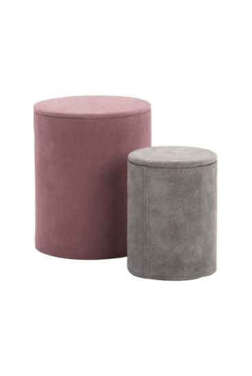 Laekre-aesker-i-ruskind-i-flot-rosa-og-graa-farver