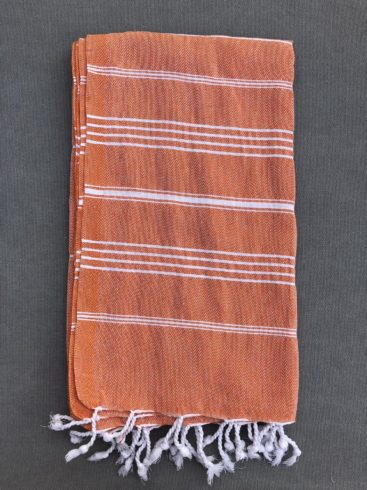 orange-stribet-hammam-haandklaede