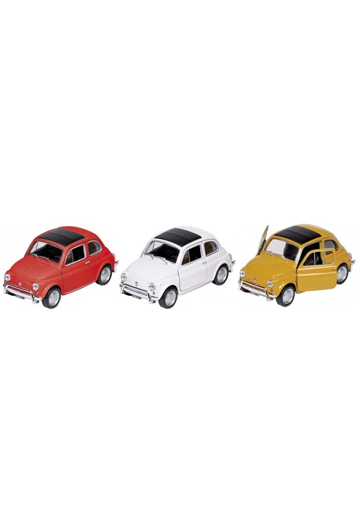 Modelbiler-Fiat-500-i-forskellige-farver