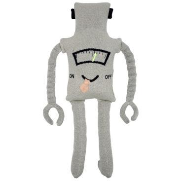 Sjov-strikpude-som-robot-fra-Meri-Meri