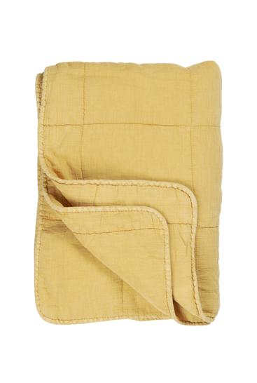 quilt-plaid-fra-ib-laursen-lys-gul