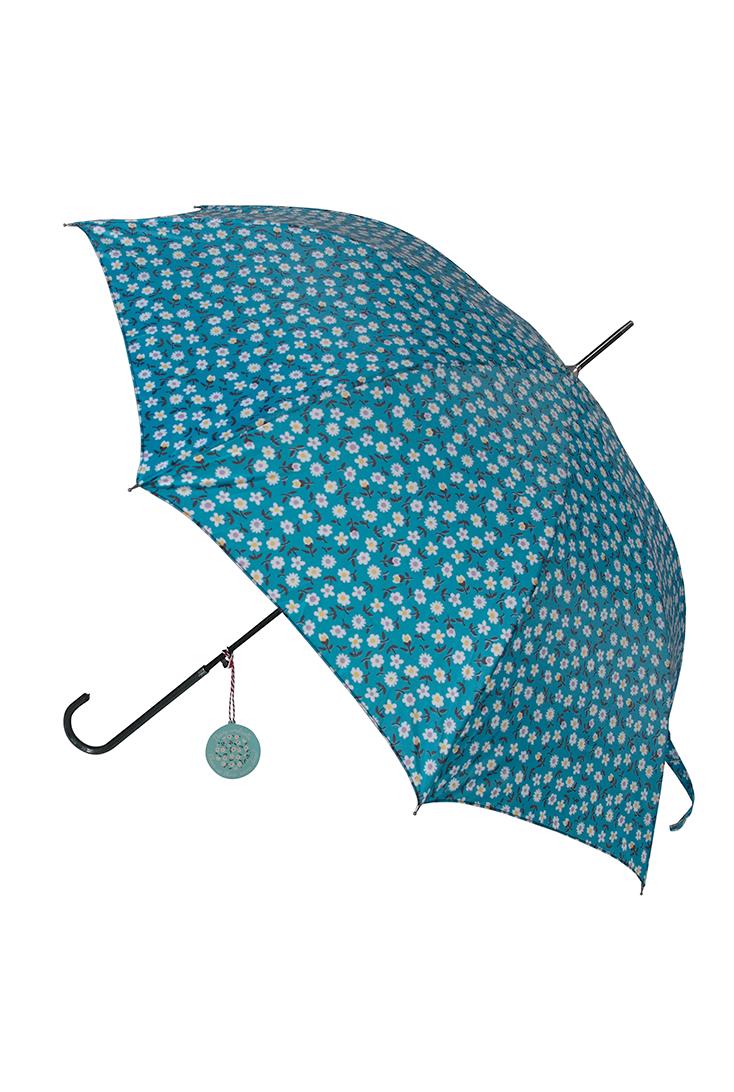 skoen-paraply-med-blomsterprint