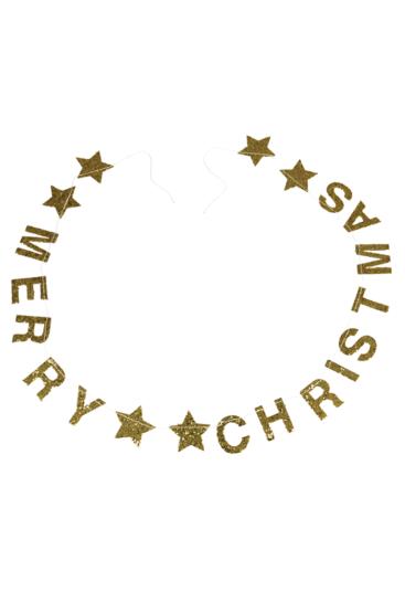 guld-guirlande-med-merry-christmas