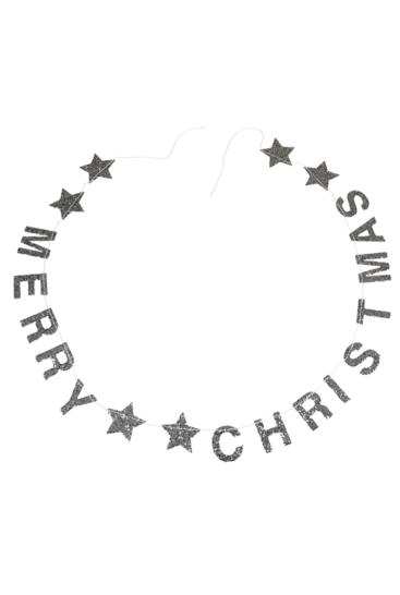 Merry-christmas-soelv-guirlande