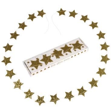 guld-glimmer-guirlande-med-stjerner