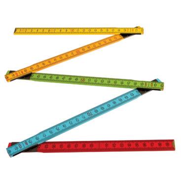 skoen-flerfarvet-tommestok-paa-en-meter