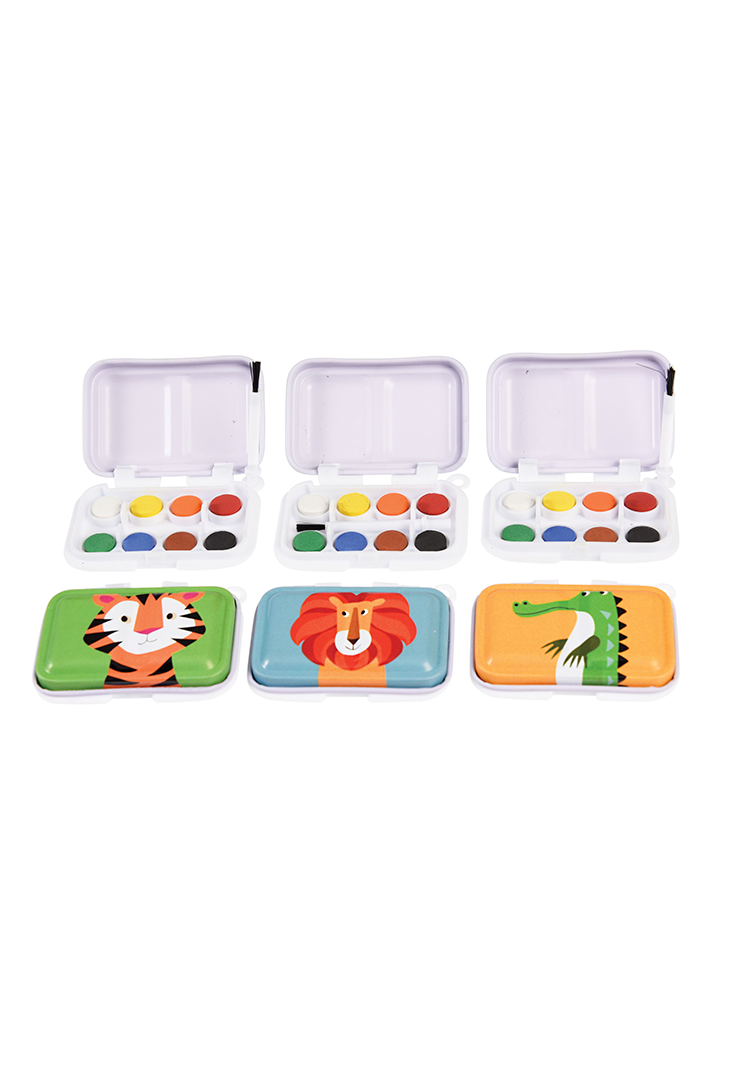 Sjove-mini-vandfarver-med-dyr